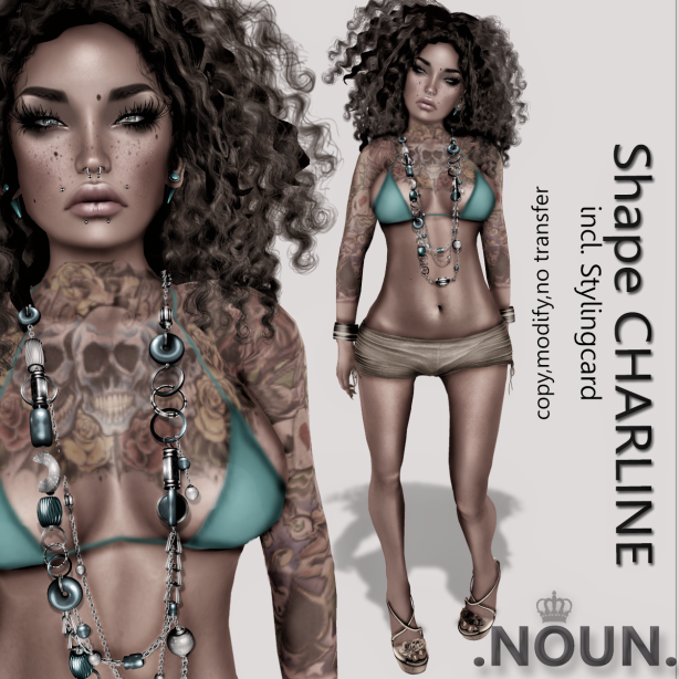 Vendor Shape Charline